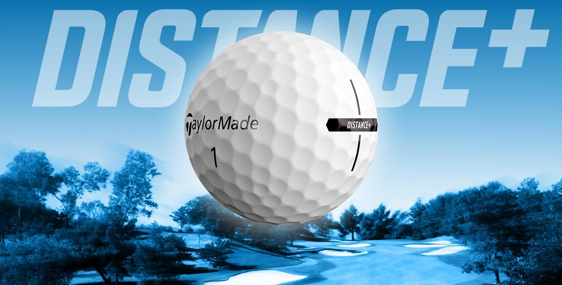 Damen distance golfball