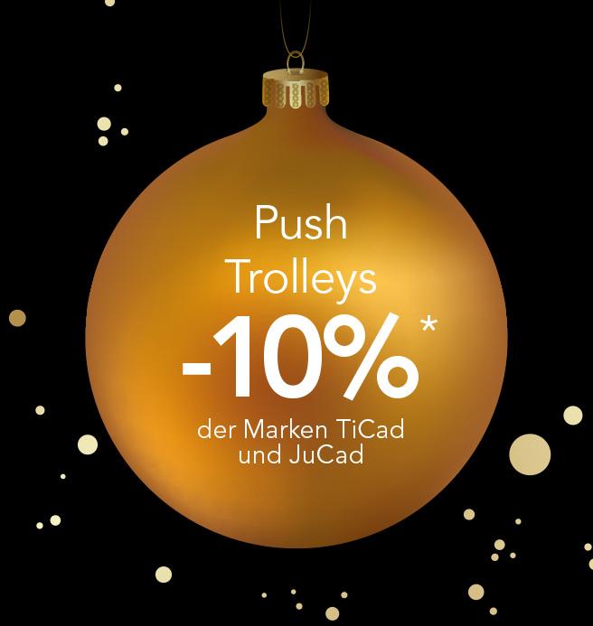 Damen Weihnachtsaktion Push-Trolley